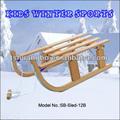 2014 Popular plegable de la nieve trineo en madera