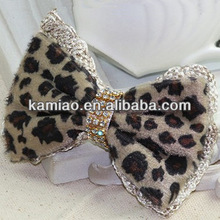 2014 fashion teenagers hair bows with clips western hair bow for girls