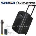 Ak12-209b nuevos productos 12 pulgadas subwoofer inalámbrica pa altavoz karaoke de control de volumen