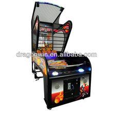 shooting hoop basketball coin operated shooting ball machine
