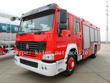 SINOTRUK HOWO 6x4 266hp fire fighting vehicle/fire engine truck