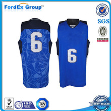 youth wholesale reversible new style basketball jersey