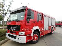 SINO HOWO 6x4 266hp water tank-foam fire fighting truck/airport fire truck