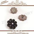 2014 novo headbands crochet crochet e flores, botões de flor z+06, zs vestuário fábrica de botões