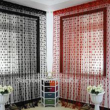 New Polyester Fiber Romantic Love Heart Window/Door Curtain Size 300*300cm 17Colors