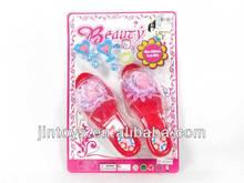 De juguete de plástico zapatos, Juguetes de niña, De la muchacha de la belleza conjunto -- CC027076