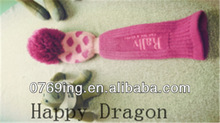 High quality knitted machine golf sock/set, Personalized knitting machine golf bags,