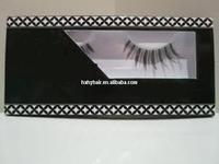 Hand made strip fur real Mink Eyelash high quality hotel shaving mirror