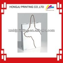 Custom paper shopping bag for printing company