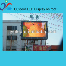 P8 outdoor full color led display for traffic information show