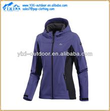 super warm winter outdoor fleece lined womens softshell jacket