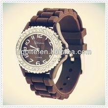 Custom quartz surface digital kids silicone watch band