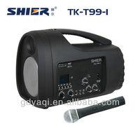 TK-T99 Portable 35W amplifiered fq mini digital speaker with remote control