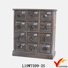 old number kitchen multi drawer decorative cabinet