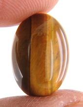 6.95 Ct Certified Brazilian Natural Tiger Eye Gemstone in Canada