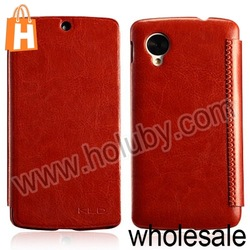 Crazy Horse Pattern Flip Leather Case for LG Google Nexus 5 D820