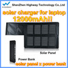 12000 mAh Capacity Emergency 20v solar laptop charger for tablet laptop for laptop for Cell Phone/Laptop/MP3/MP4 Players