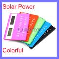 بوصة شاشة lcd ملونة abs 1.1 الطاقة الشمسيةالبطاقة آلة حاسبة