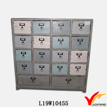 french style multi small drawers wood cabinet