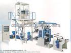 nylon extruding machine and 2 color flexo printer in line FM45/YT2600