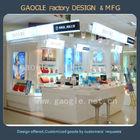 Shopping mall supply mac makeup cosmetic display stand,cosmetic display kiosk