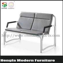 SUNRISE hotel waitng area metal furniture model sofa set