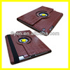 Case-online For Apple iPad 2/3/4 Luxury Pu Leather Flip Folio Stand Rotating Magnetic Cover Smart Case