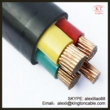 Aluminum copper conductor XLPE PVC external power cable