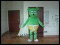 bs2014 verde adultos traje de hormiga ant verde traje de la mascota