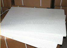 high temperature thermal stability and thermal shock resistance ceramic fiber board (1260 high- pure)