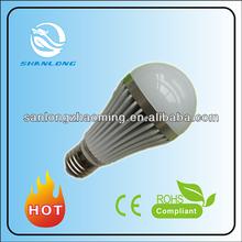 E27 E26 led bulb raw material 800Lm, CRI 80 led lamp bulb