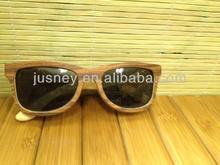 China manufacturer zebra wood sunglasses popular gift
