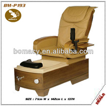 wooden cheap and simple massage spa pedicure chair BM-P193
