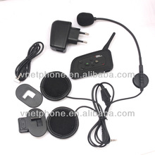 4 riders 1200m fm bluetooth wireless walkie talkie on sale