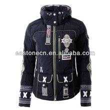 2014 top quality ladies designer ski jackets