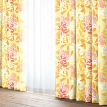 Permanent press curtain decorative items for living room