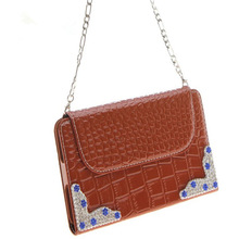 Wallet cell phone case with shoulder strap for samsung galaxy note3