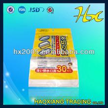 large size header bag/cloth bag/t shirt plastic bags wholesale