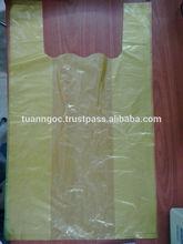 Yellow plastic bag for supermarket/ Plastic bag made in Vietnamese manufacturer