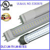 fluorescent tube lighting in commercial and spaces, LED lighting for residential DLC UL approved