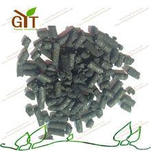 Potassium humate black bullet form organic fertilizer