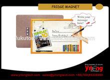 Sublimation Hardboard Refrigerator Magnet