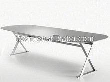 2014 hot sale dining room furniture set laminate dining tables white E-26