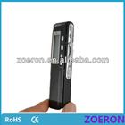 8gb digital voice recorder with remote control