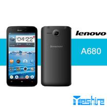 Cheapest Lenovo A680 MTK6582m quad core Android 4.2.2 dual sim 5.0MP back handphone