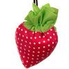 Strawberry shopping bag/beautiful fruit shape 210t polyester strawberry shopping bag