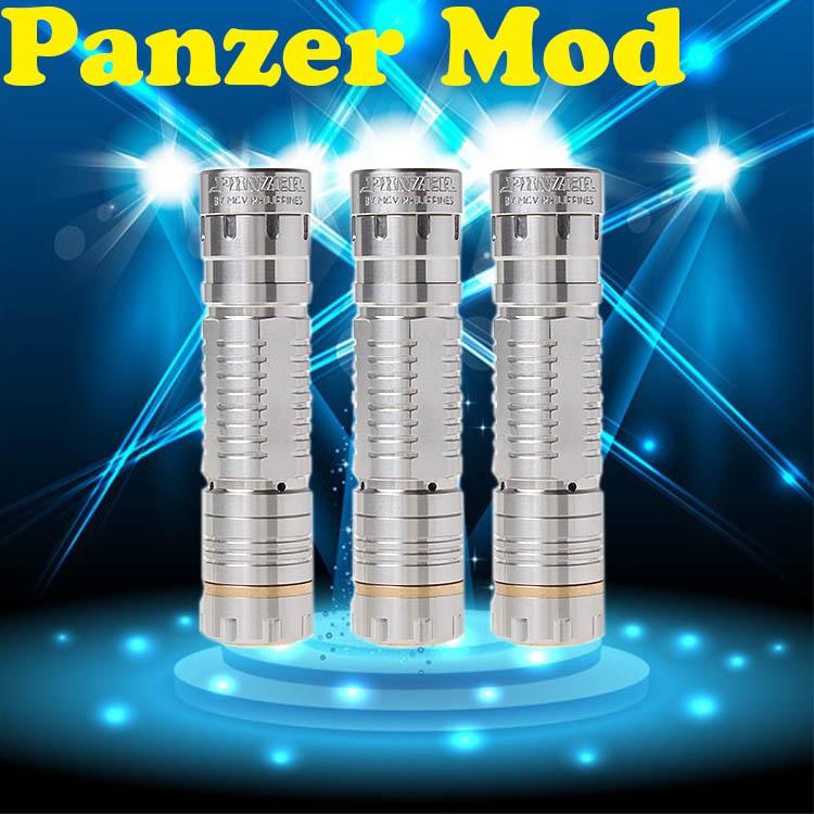 2014 latest mechanial verified quality mechanical panzer mod clone 26650 mod wholesale