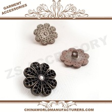 2014 black nickel tone l.topaz rhinestones lead nick,flower buttons z+06,zs garment buttons factory