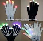 Magic Black Light Up Gloves,Led Glove ,Led Finger Light Gloves