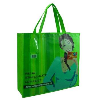 Rpet woven shopping bag/tote bag/reusable bag china manufacturer